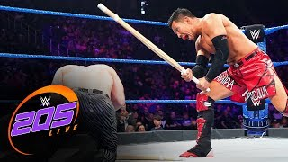 Akira Tozawa vs. The Brian Kendrick – No Disqualification Match: WWE 205 Live, Oct. 11, 2019