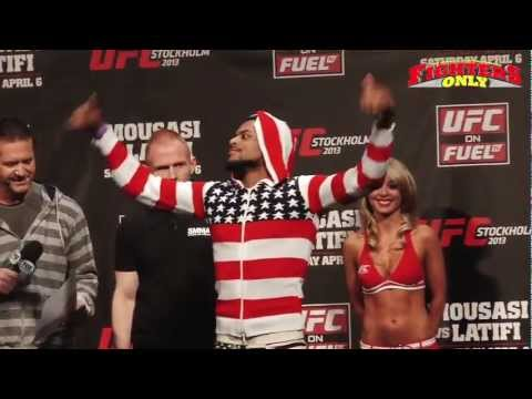 Fighters Only UFC on FUEL TV 9 Weighins