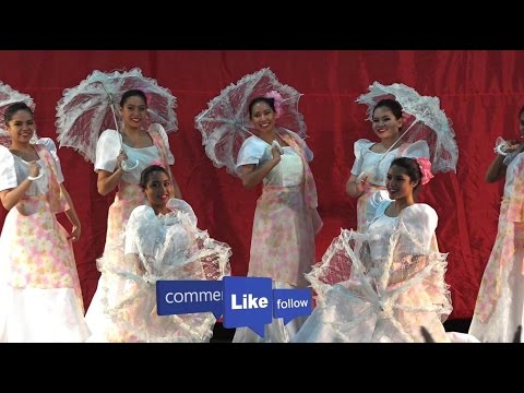 Sayaw Sa Payong - Marvelous Umbrella Dance by Philippines Talents-Traditional Folk Dance/Culture2015