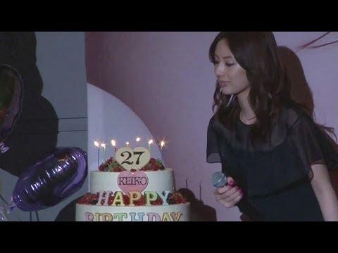 北川景子 1st 写真集『27』 サプライズバースデーイベント&初握手会