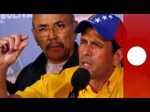 Venezuela's Capriles refuses to accept Maduro victory