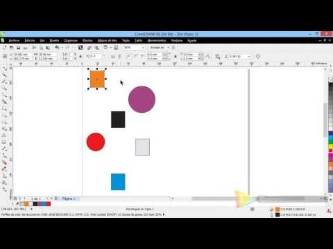 Curso Introducción a CorelDraw X6 - 52 Alinear y Distribuir