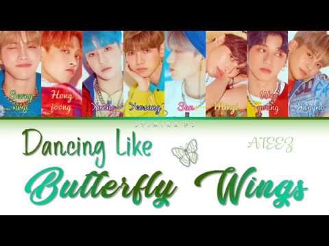 Download ATEEZ 에이티즈 - 'Dancing Like Butterfly Wings' s Color Coded_Han_Rom_Eng Mp4 baru