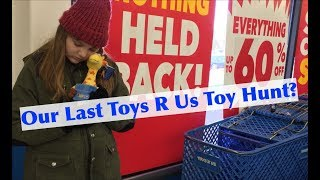 Toy Hunt at a Closing Toys R Us Store! Liquidation Sale on Project Mc2 Num Noms & More! #savetoysrus