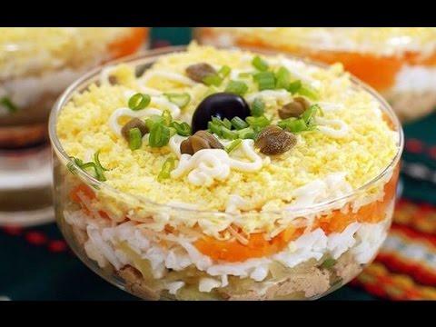 """Очень вкусный салат """"Австрийский"""" что приготовить на праздник"""
