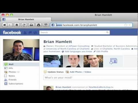 How to Find Your Facebook Admin, Page, and App ID Number   NewMediaWorkshop.tv