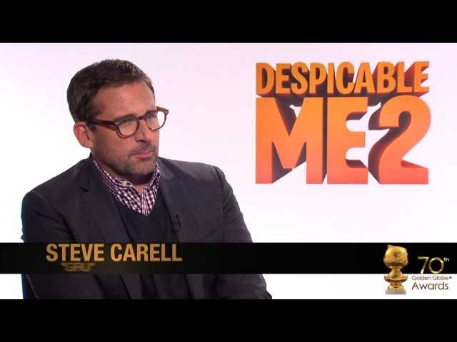 Steve Carell and Kristen Wiig on Despicable Me 2