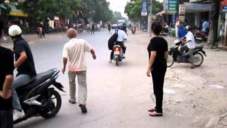 Phim hai - CSGT dung luoi danh ca de bat xe may o Thanh Hoa