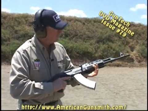 Bench & field evaluation for the CAI Centurion 39 USA-made AK rifle from GunTech #79