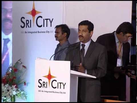 Sri City Progress Celebration Speech by Mr. Jojo Alexander, MD, Alstom Transport India