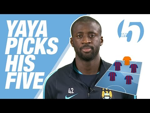 Messi & More! | Yaya Toure's Fantasy 5-a-side Team
