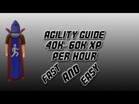 RuneScape 2007 Agility Guide 40-60k xp Per Hour