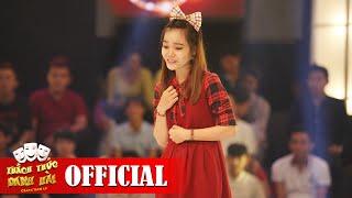 Video clip Thách Thức Danh Hài mùa 2 | Cô bé đầm nở thở hổn hển trên sân khấu