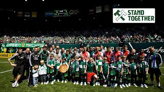 How Atticus & Green Machine beat the Timbers