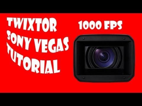 TUTORIAL Twixtor en Sony Vegas Slow-Mo Camara Lenta 1000fps GoPro ESPAÑOL