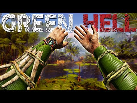 Crafting Body Armor Deep in the Jungle - Puma Attacks & Jungle Exploration - Green Hell Gameplay