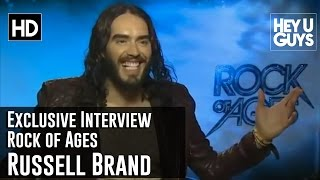 Hilarious Russell Brand Exclusive Interview - Rock of Ages