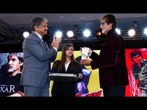 Big B raised the bar for Lifetime Achievement Award: Anand Mahindra