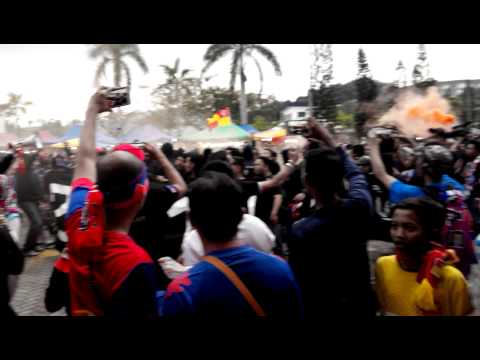 BOYS OF STRAITS Ultras live at Shah Alam