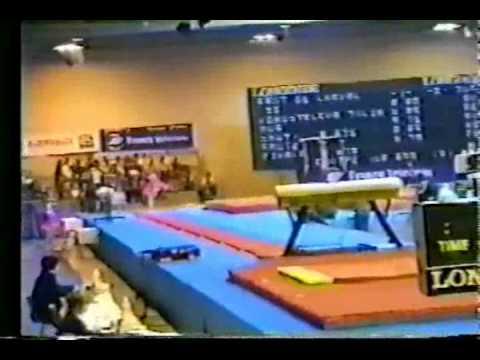 Yulia Korostelyova - 1995 Junior European Team Championship - Vault 2