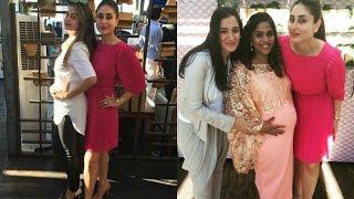 Kareena Kapoor Hot In Pink Dress At Baby Shower