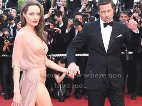 ♥ Angelina Jolie and Brad Pitt L.O.V.E. ♥