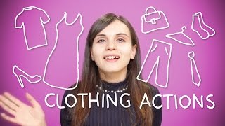 Turkish Weekly Words - Clothing Actions