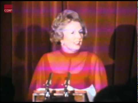Margaret Thatcher's Iron Lady speech