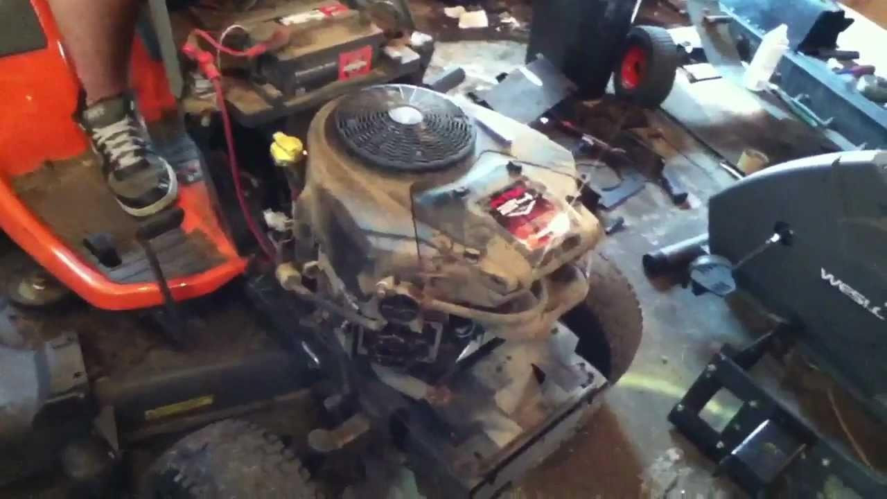My New Husqvarna Yth2448t Lawn Tractor Youtube