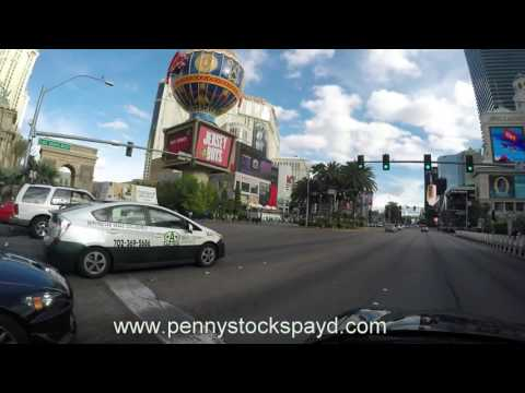 Traveling The World And Trading Penny Stocks - Las Vegas The Strip