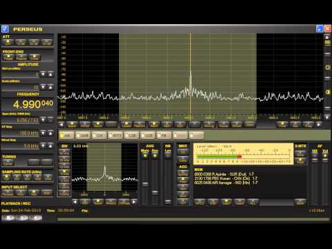 Radio Apintie (Suriname) 4990.04kHz 2/24/13 02:56~ - Station Announcement