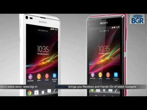 Sony launches the Xperia SP and the Xperia L
