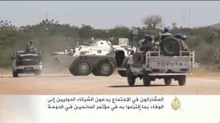 صعوبات في تنفيذ اتفاق الدوحة بشأن دارفور