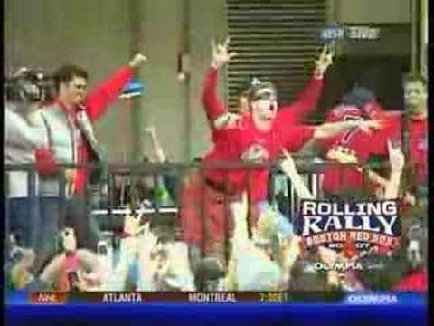 John Papelbon Dance at the Rolling Rally