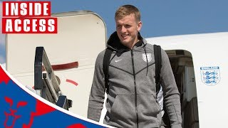 England Players Arrive Home From 2018 World Cup | Inside Access | World Cup 2018