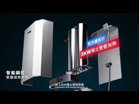 速熱式電熱水器-速熱原理