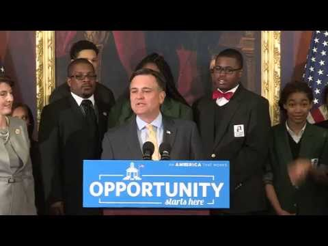 Press Conference in Support of Success and Opportunity through Quality Charter Schools Act