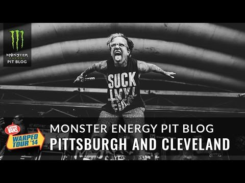 2014 Monster Energy Pit Blog 10 - Pittsburgh and Cleveland