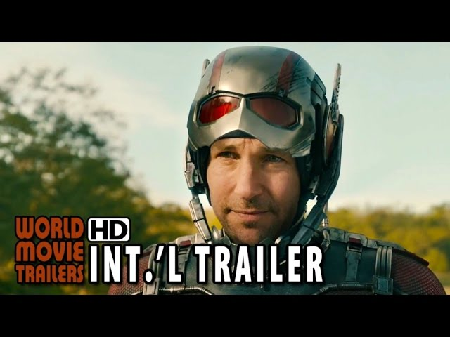 Ant-Man International Trailer (2015) - Paul Rudd, Michael Douglas HD