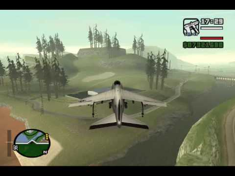 How to Fly a Hydra in GTA San Andreas (PC)