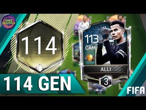 114 GEN KADROM! DERECE 3 ALLI! FIFA MOBILE 18