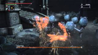 Bloodborne Celestial Emissary Boss Fight Perfect Method