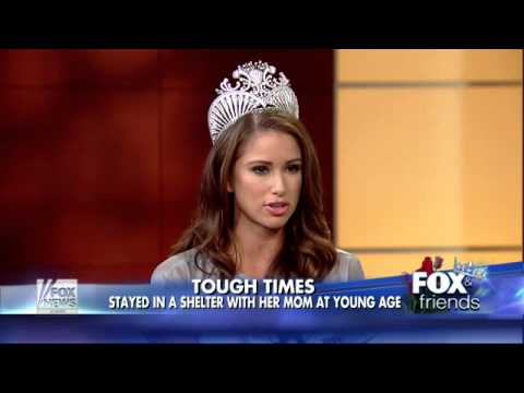 Miss USA Nia Sanchez talks about her pageant win