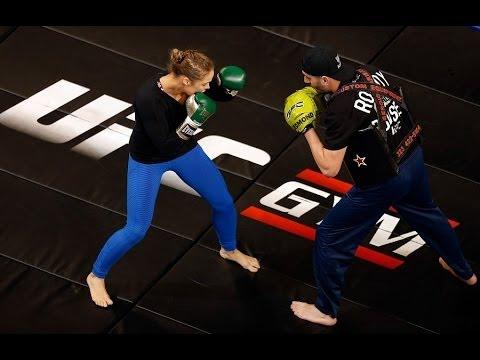 UFC 170 Open Workouts Recap