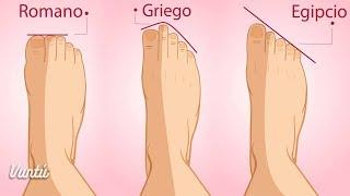 Mira cómo la forma de tus pies revelan tu origen y tu personalidad