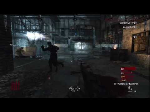 Call of Duty: World at War Nazi Zombies Der Riese 4-Player Strategy (Rounds 1-6)