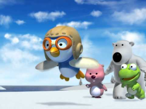 Pororo Opening (eng) video