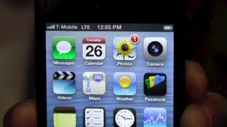 T-Mobile Apple iPhone 5 with 4G LTE Hands-On!