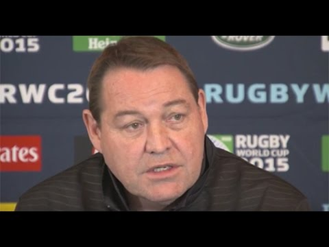 Steve Hansen media conference ahead of South Africa