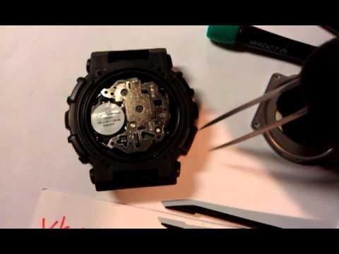 как поменять батарейку в часах g shock VALENTINO VALENTINA